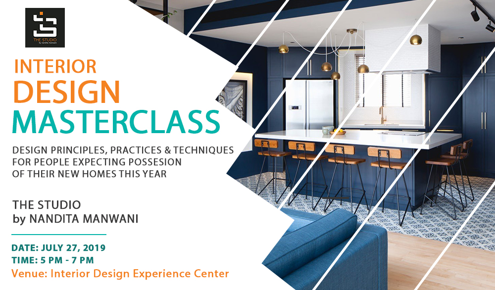 Interior Design Masterclass in Bangalore Jul 27, 2019